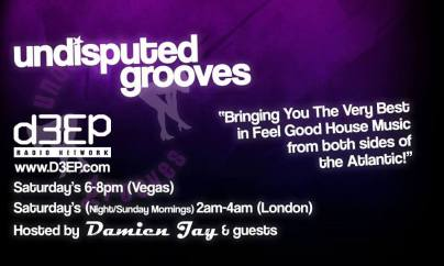 d3ep radio - undisputed grooves - show flyer 2014