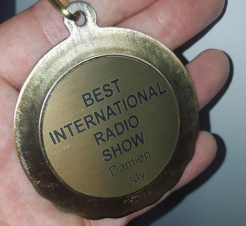 Best International Radio Show - House music Awards - Damien Jay